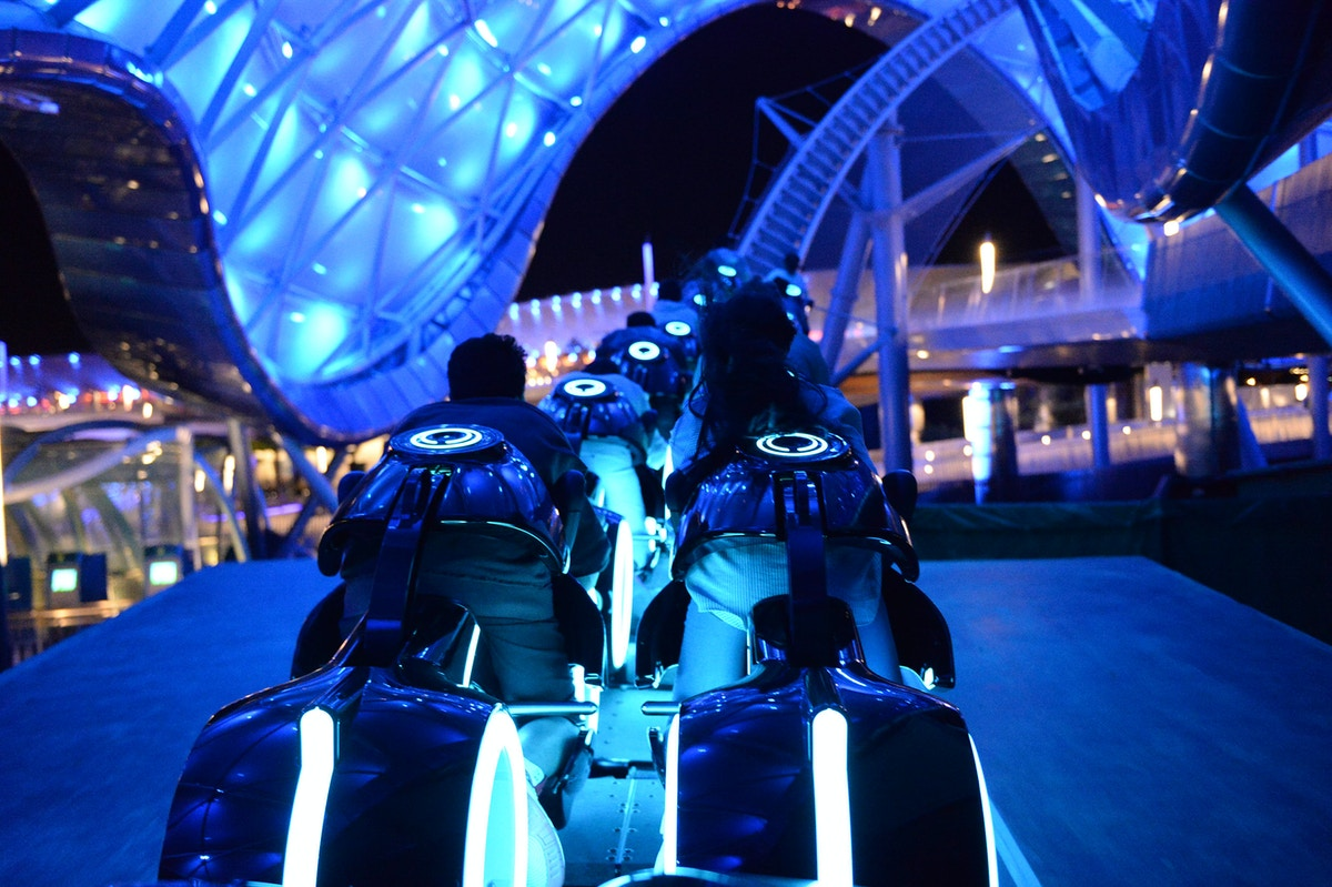 TRON Lightcycle Power Run, Shanghai Disney Resort