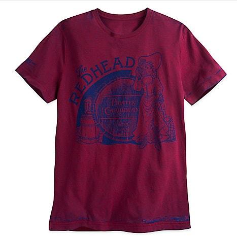 pirates shirt redhead