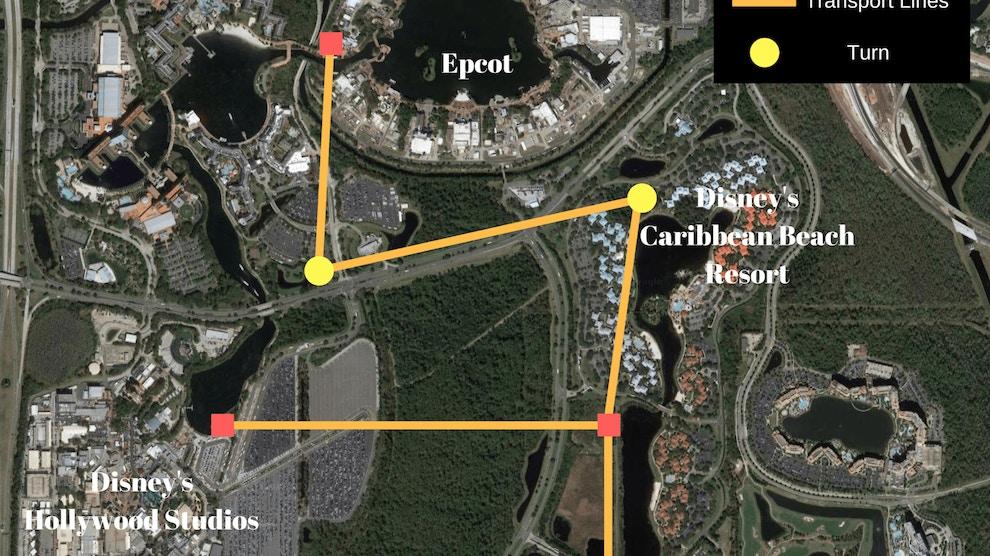 Walt Disney World Gondola System Foundation Construction