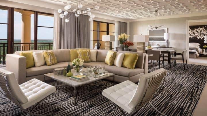 A room at the Four Seasons Resort Orlando, Walt Disney World