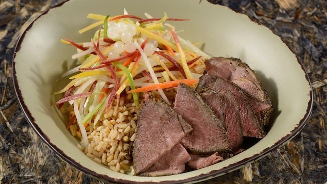 A dish from the Satu'li Canteen in Pandora: The World of AVATAR