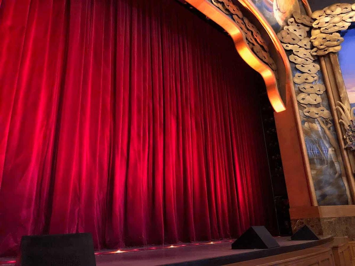 Tokyo DisneySea Big Band Beat Curtain by Joshua Meyer