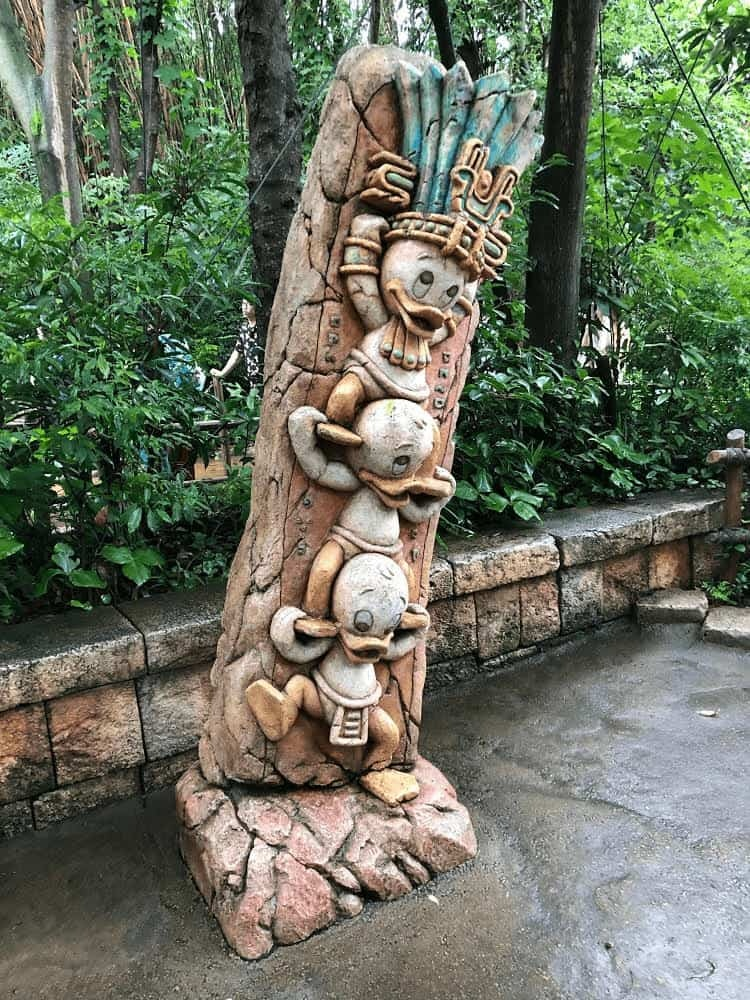 DisneySea Huey Dewey Louie Totem by Joshua Meyer