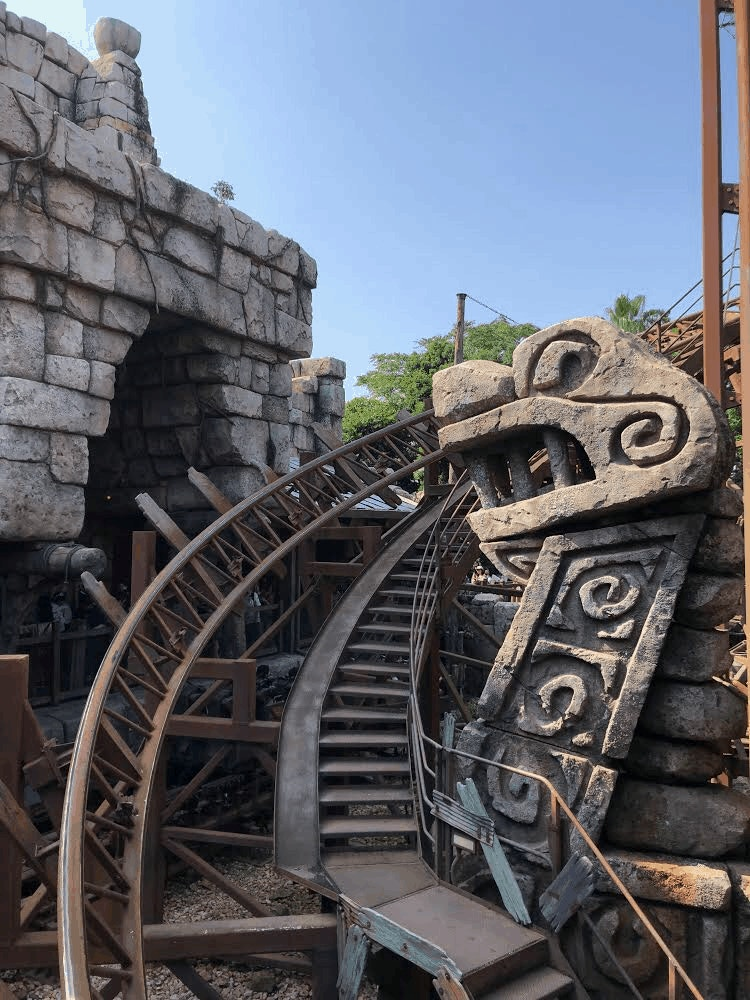 DisneySea Raging Spirits Track by Joshua Meyer