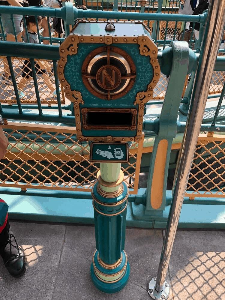 Tokyo DisneySea 20,000 Leagues Fastpass Scanner by Joshua Meyer