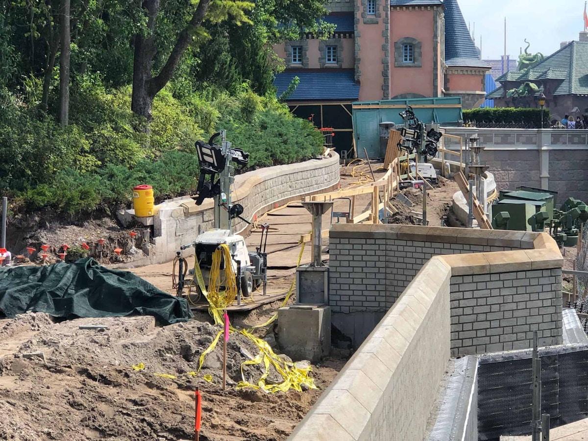 Castle Pathway Construction