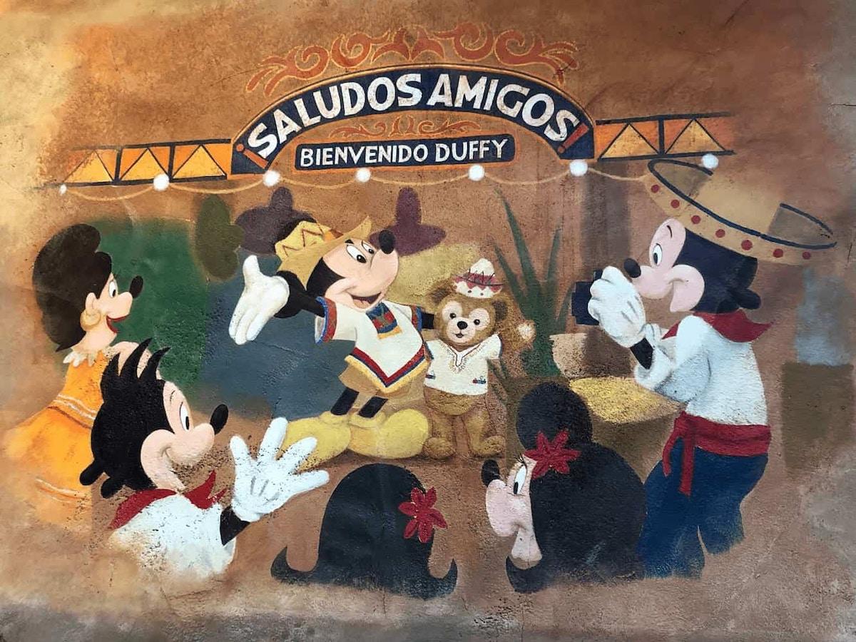 DisneySea Saludos Amigos Duffy by Joshua Meyer