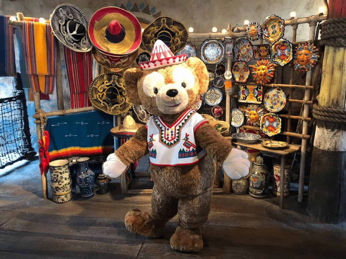 DisneySea Duffy Lost River Delta Greeting by Joshua Meyer