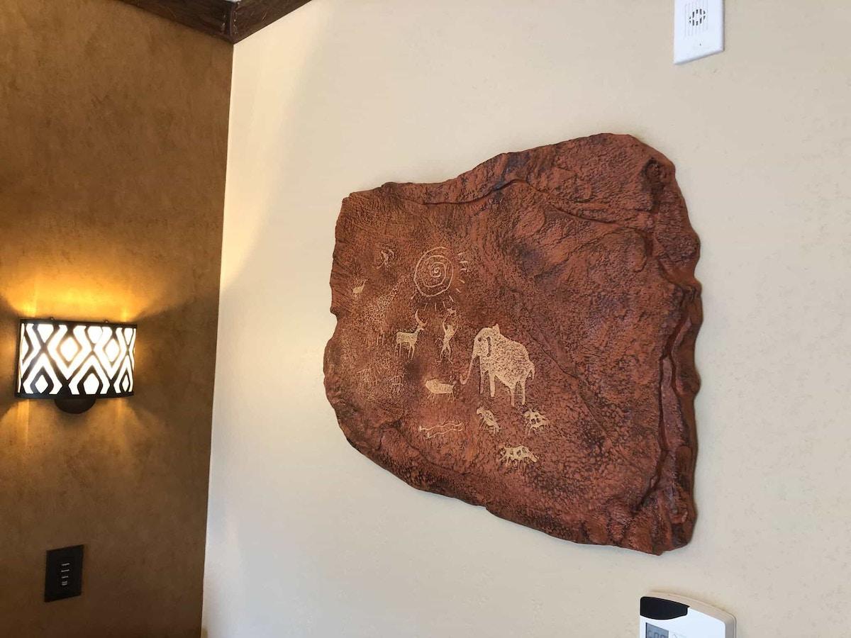 Animal Kingdom Lodge Cave Art