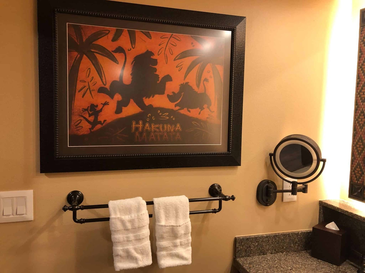 bathroom artwork