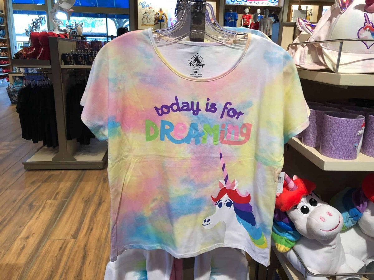 Inside Out Rainbow Unicorn Top