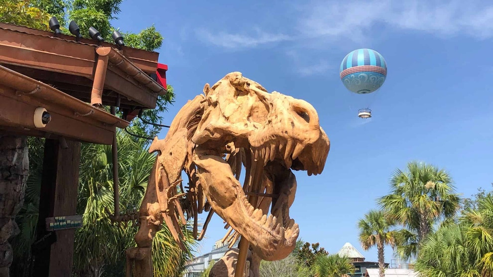T Rex from Disney Springs