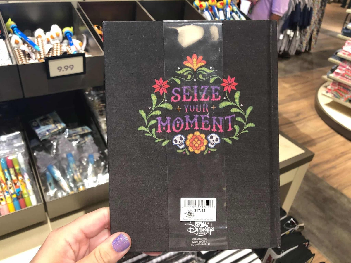 Seize the Moment Coco Notebook