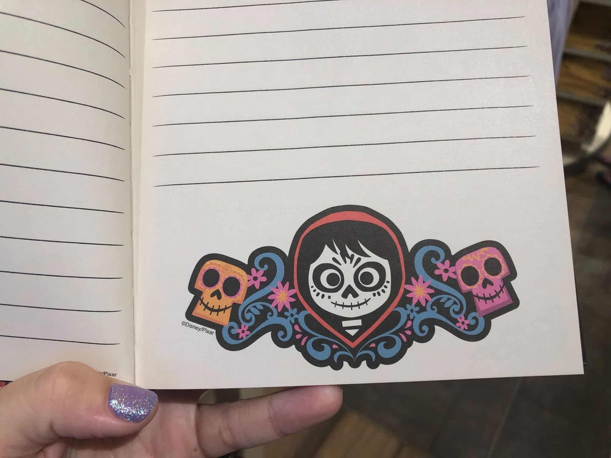 Coco Notebook Pages