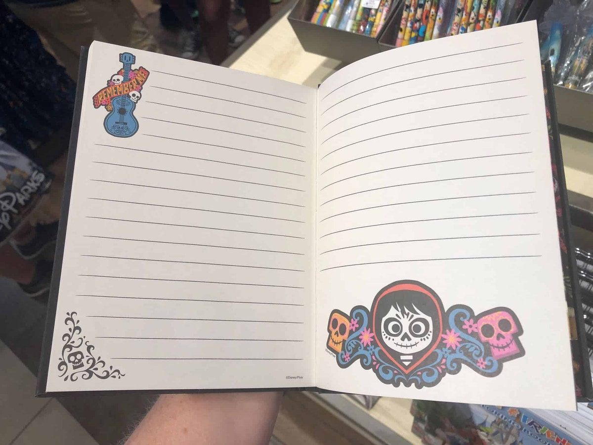 Inside Pages of Coco Notebook