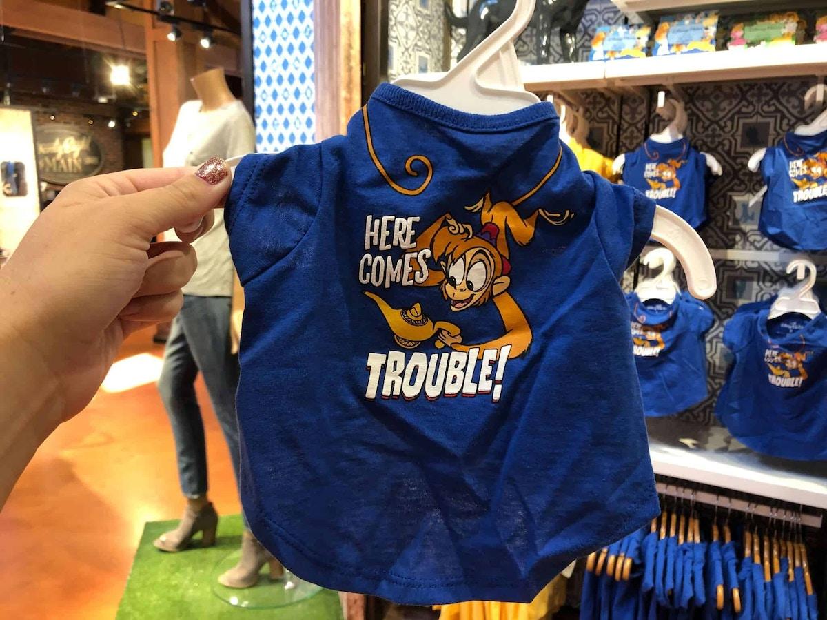 Abu Here Comes Trouble Blue Pet Shirt