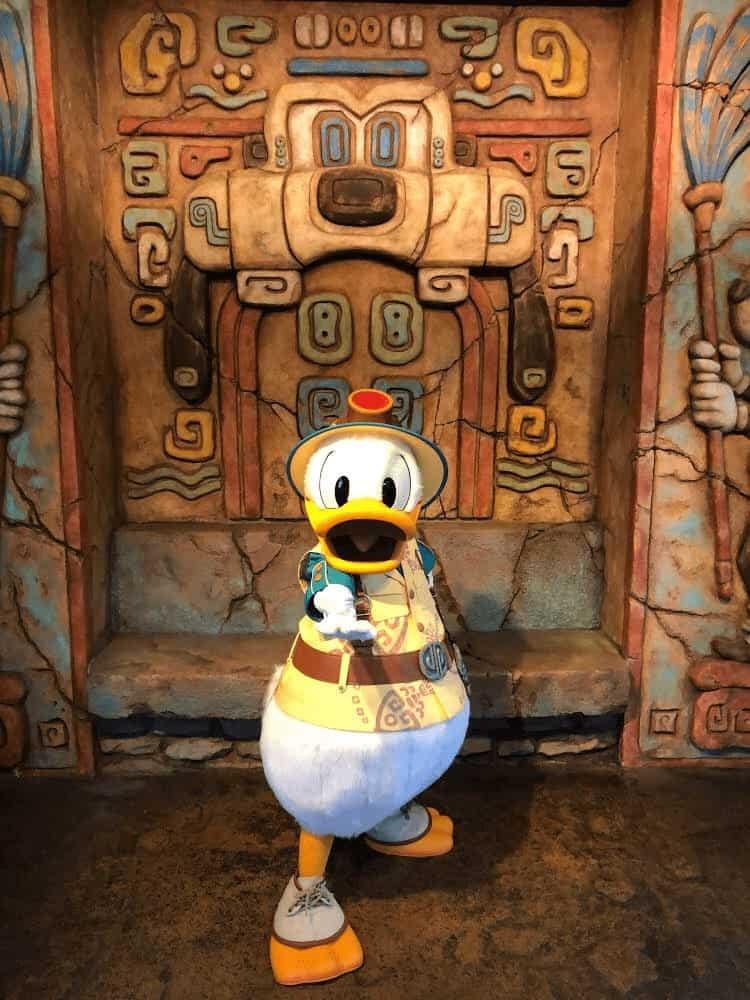DisneySea Donald Lost River Delta Greeting by Joshua Meyer
