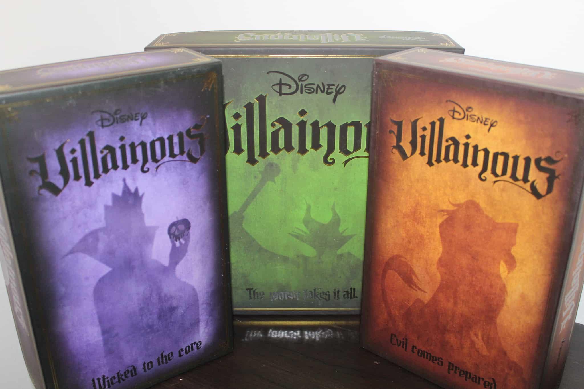 Game box, Evil Comes Prepared, Villainous