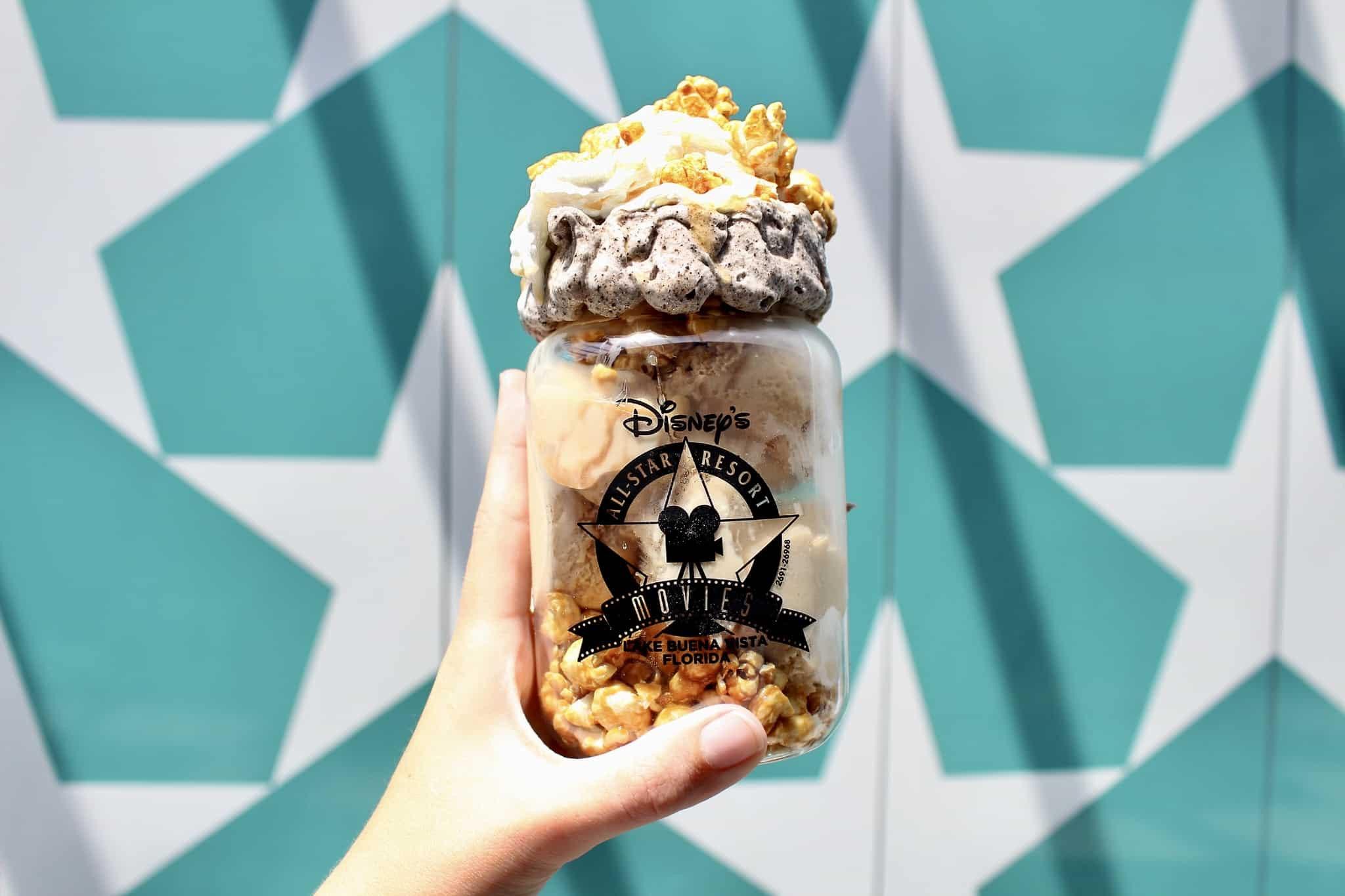 cinema popcorn sundae