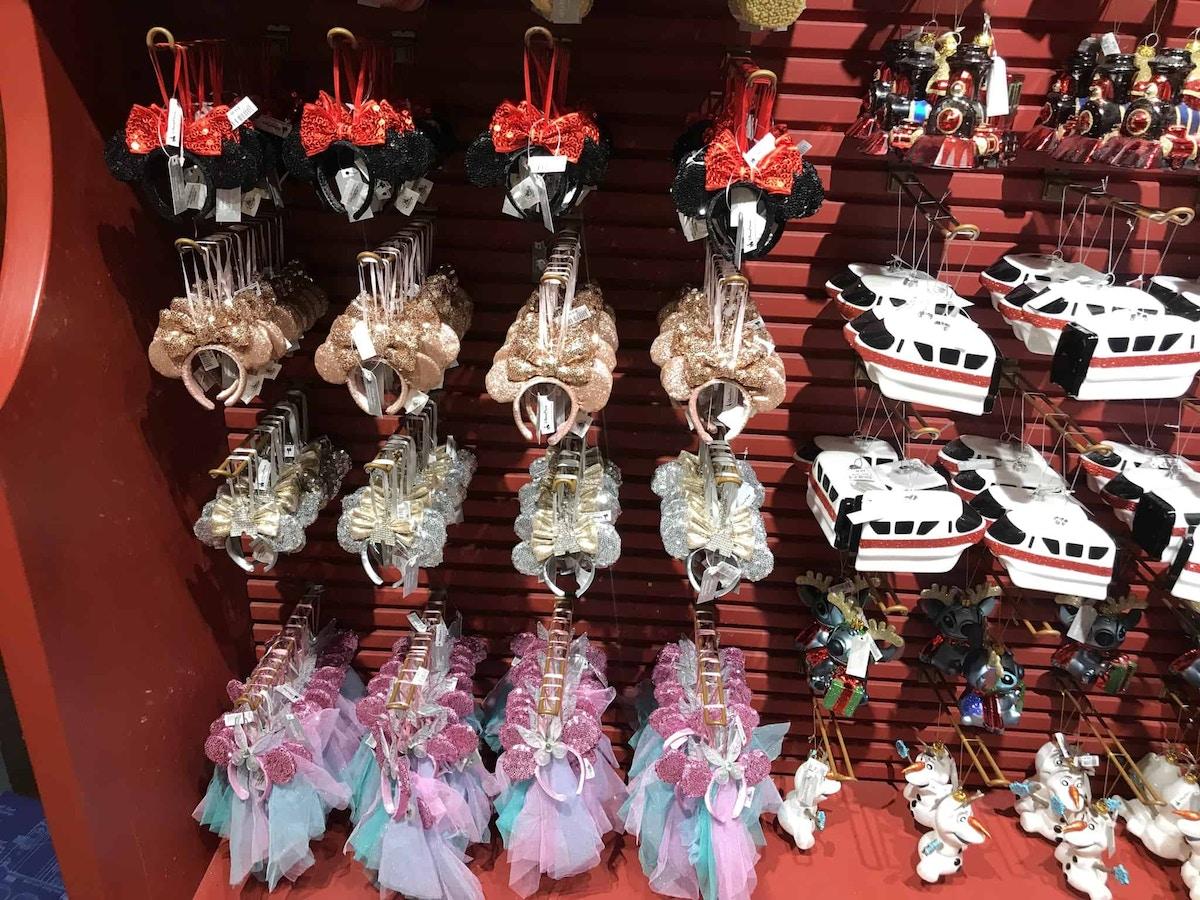 Minnie ear ornaments