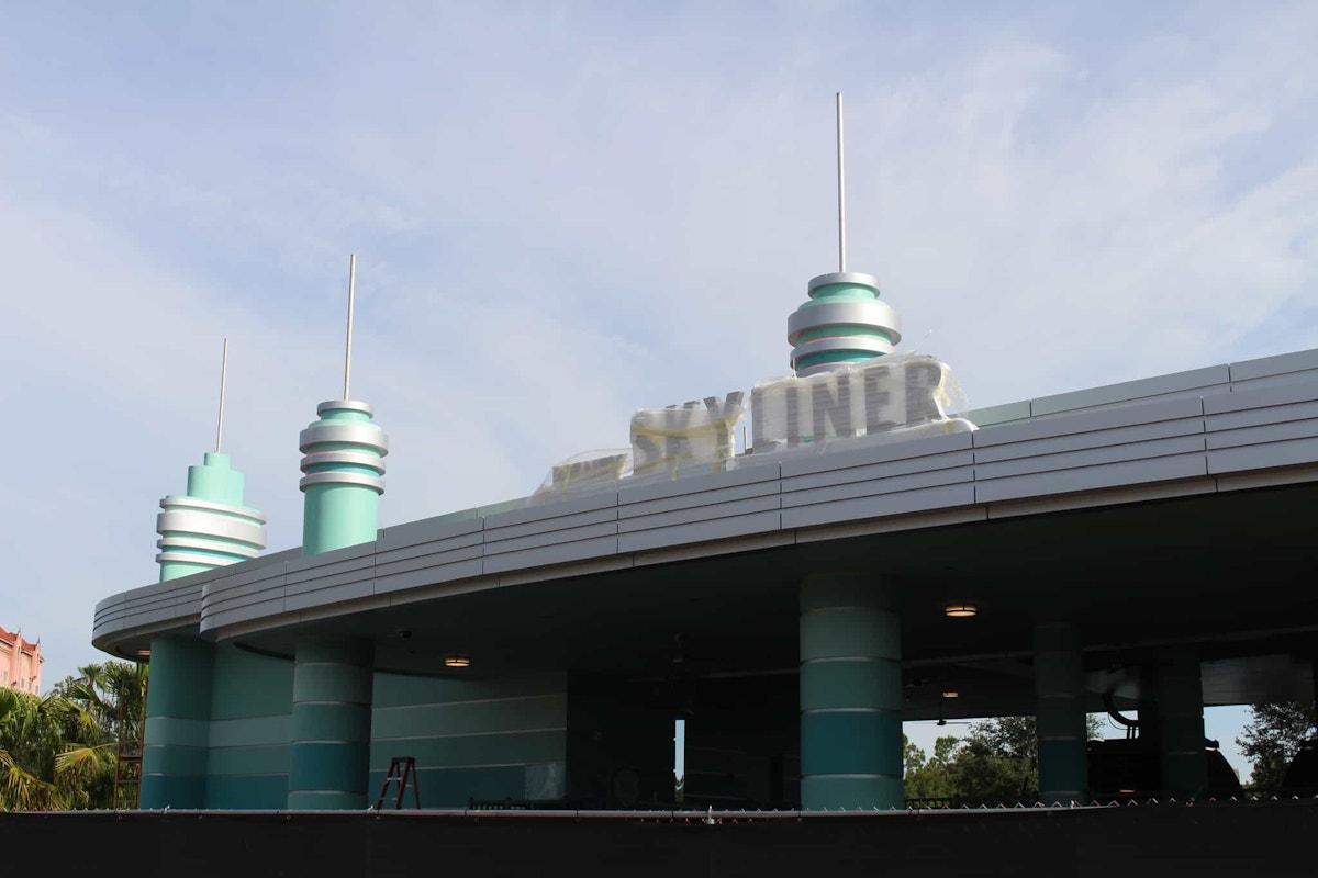 Hollywood Studios skyliner
