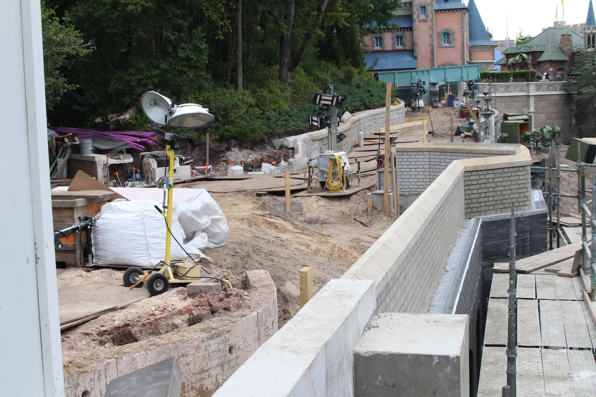 pathway widening project