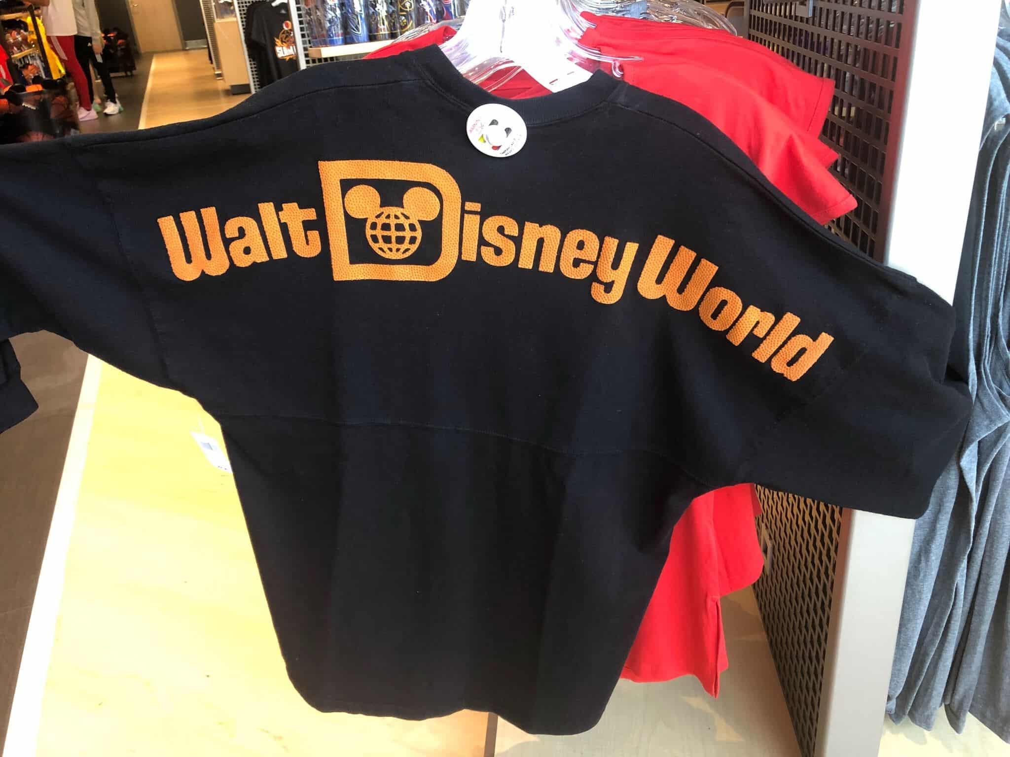 Back of Adult Spirit Jersey, Walt Disney World NBA experience