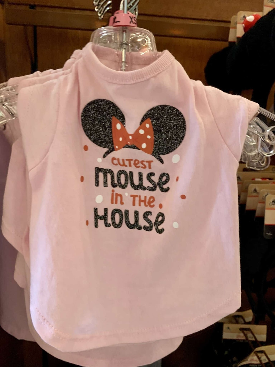 New Items Disney Tails Collection Harness Collars Shirts Disneyland Resort