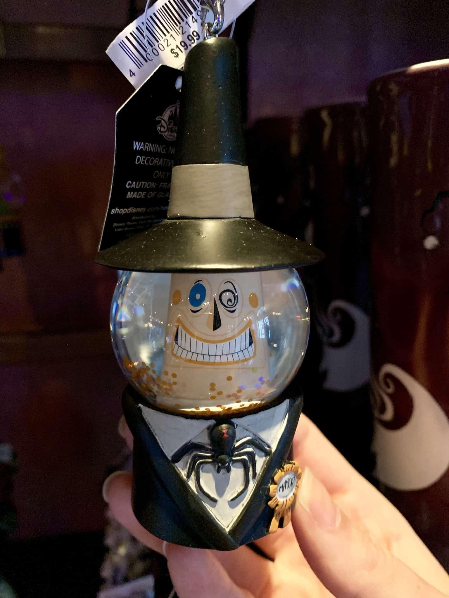 Nightmare Before Christmas Snowglobe Ornaments Disneyland Resort