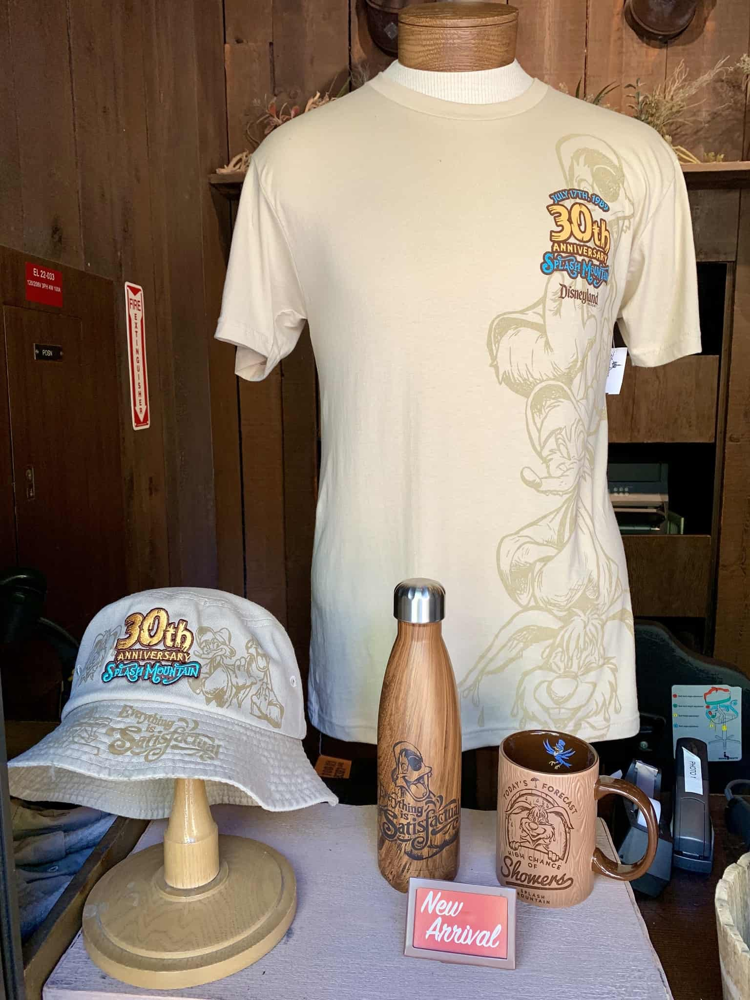 Splash Mountain 30th Anniversary Merchandise Disneyland Resort