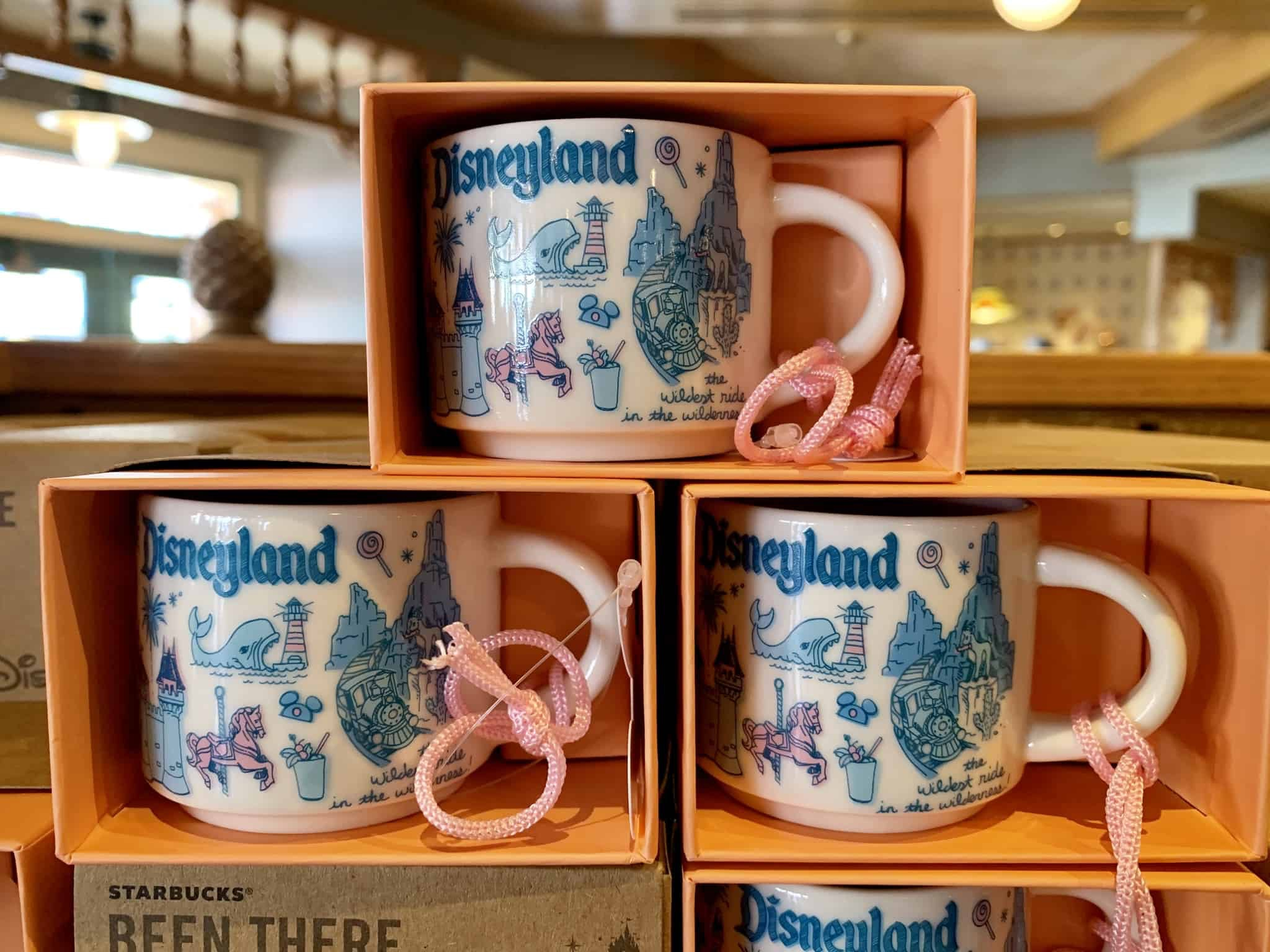 "Starbucks ""Been There"" Mug Ornament Disneyland and Disney California Adventure"