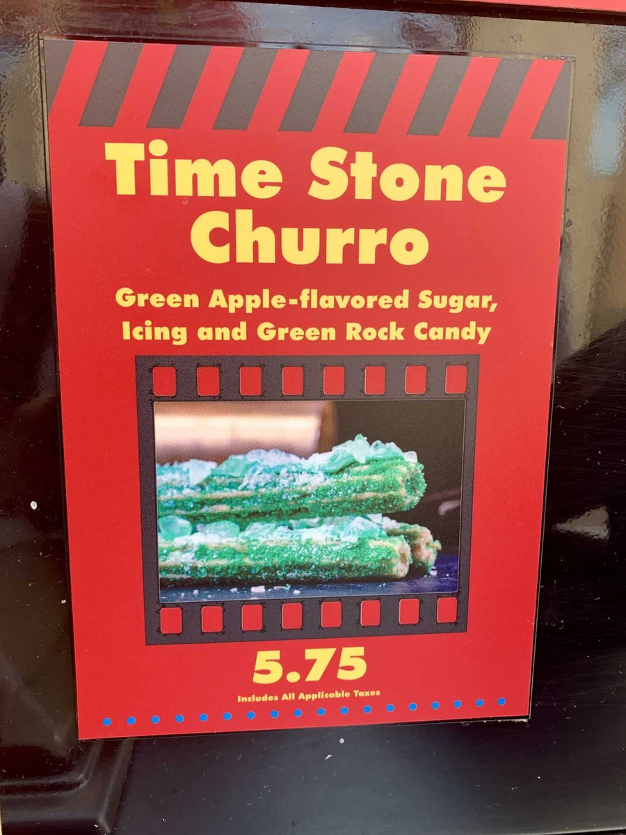 Time Stone Churro Review Disney California Adventure