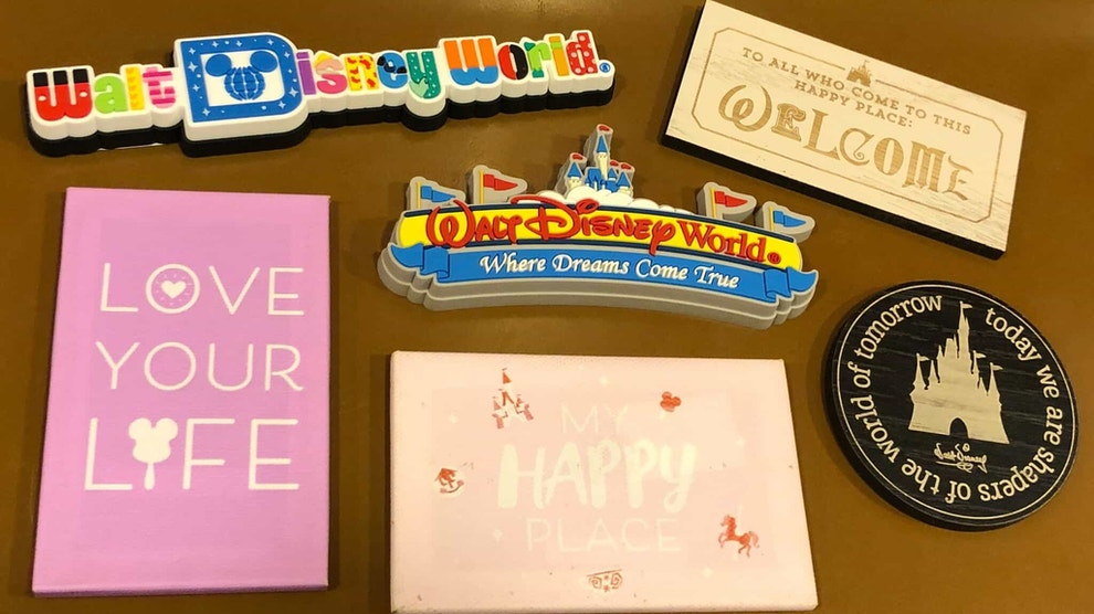 New refrigerator magnets spotted at Walt Disney World