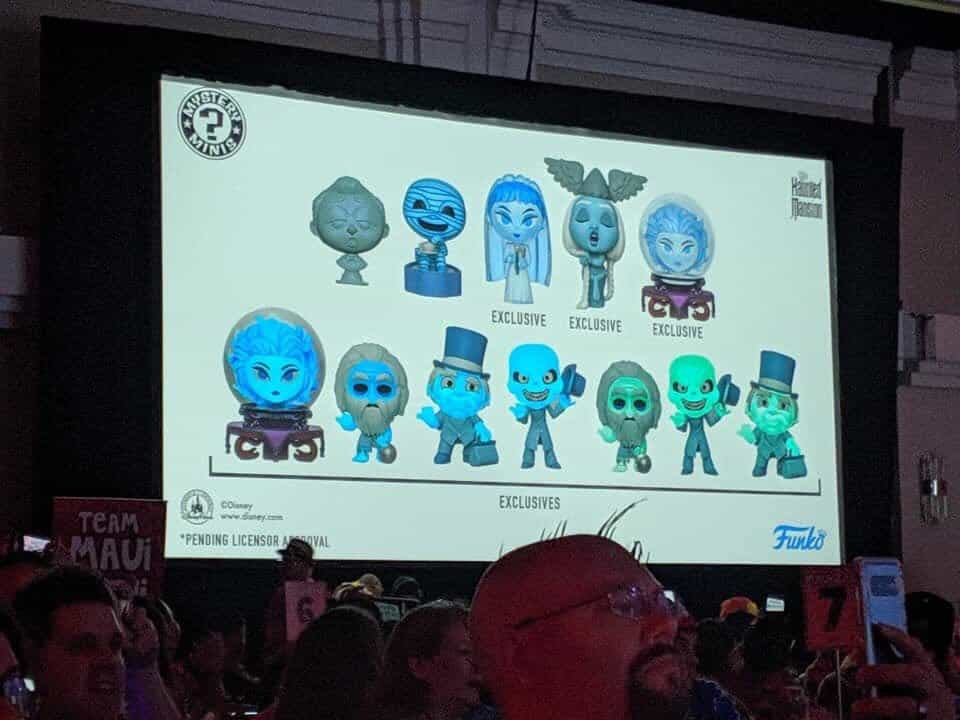 Haunted Mansion Funko Mystery Minis