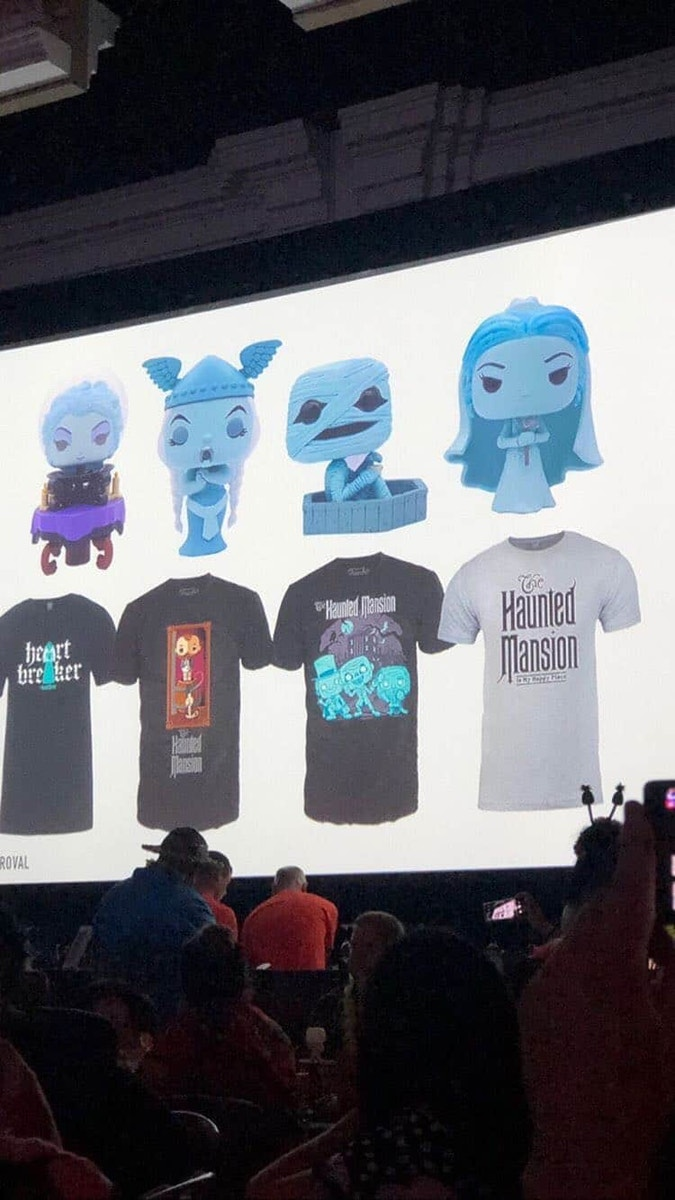 Haunted Mansion Funko Pops Tees