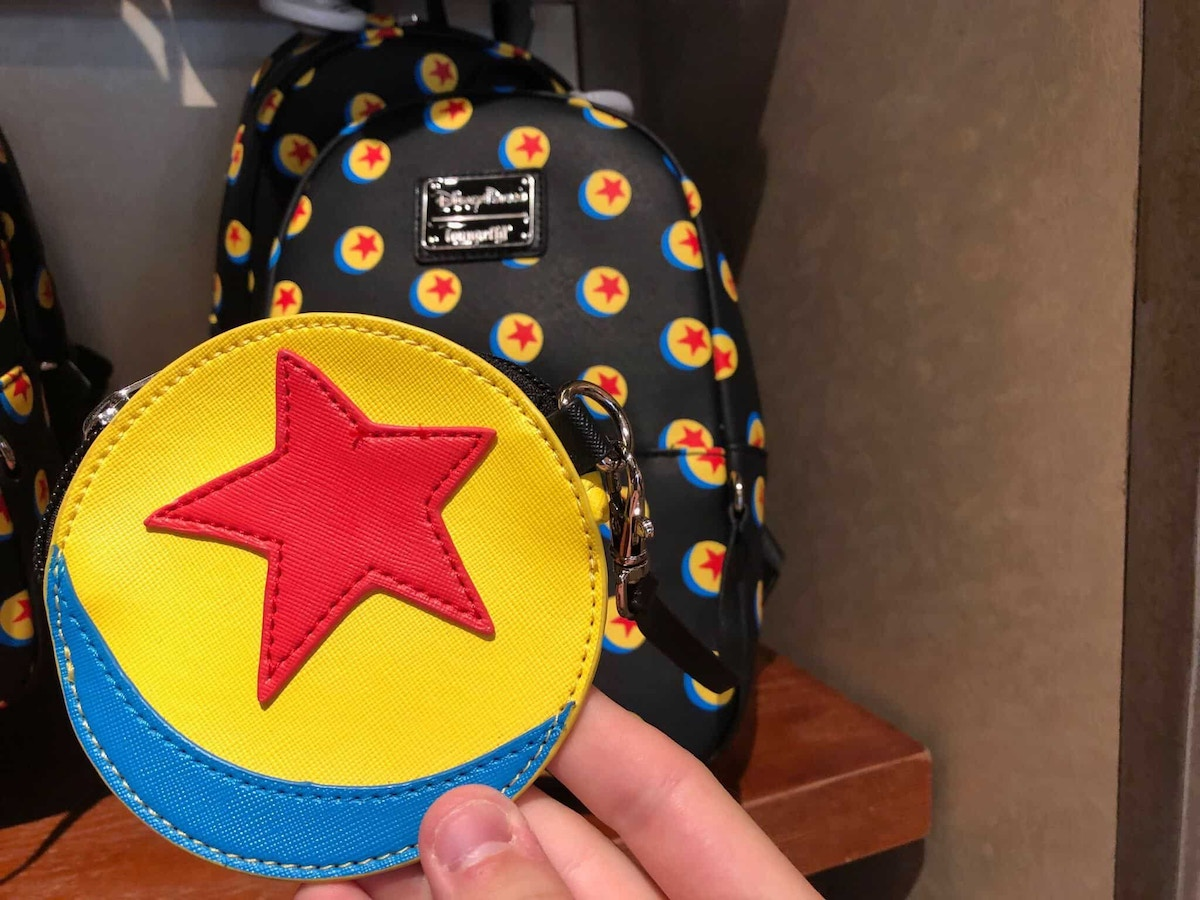 Luxo Ball Loungefly Backpack and Coin Purse
