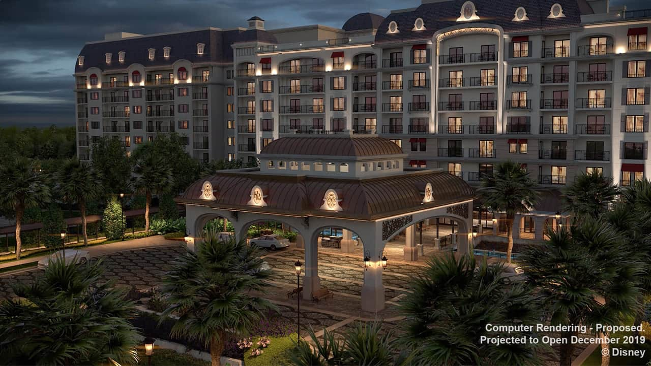 Computer rendering of Disney's Riviera Resort