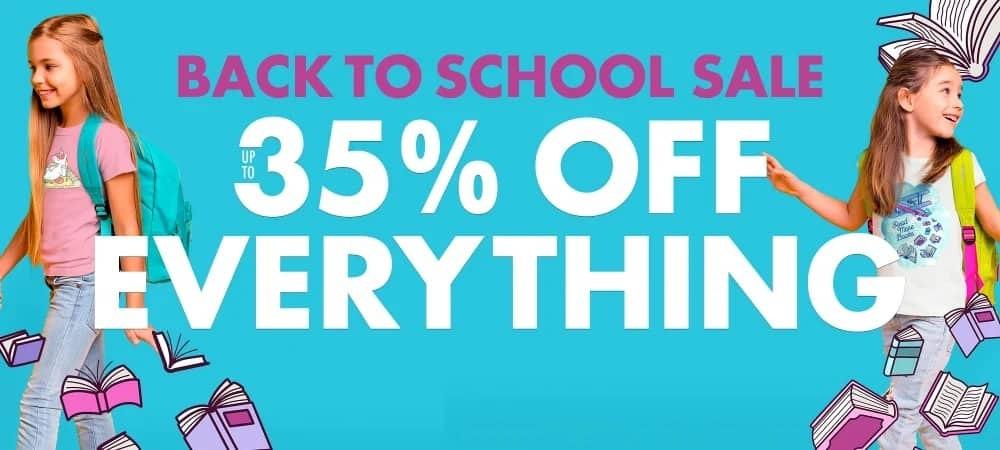TeePublic Back to School Sale