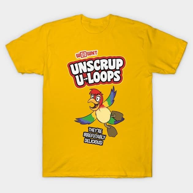 Unscrupuloops TeePublic