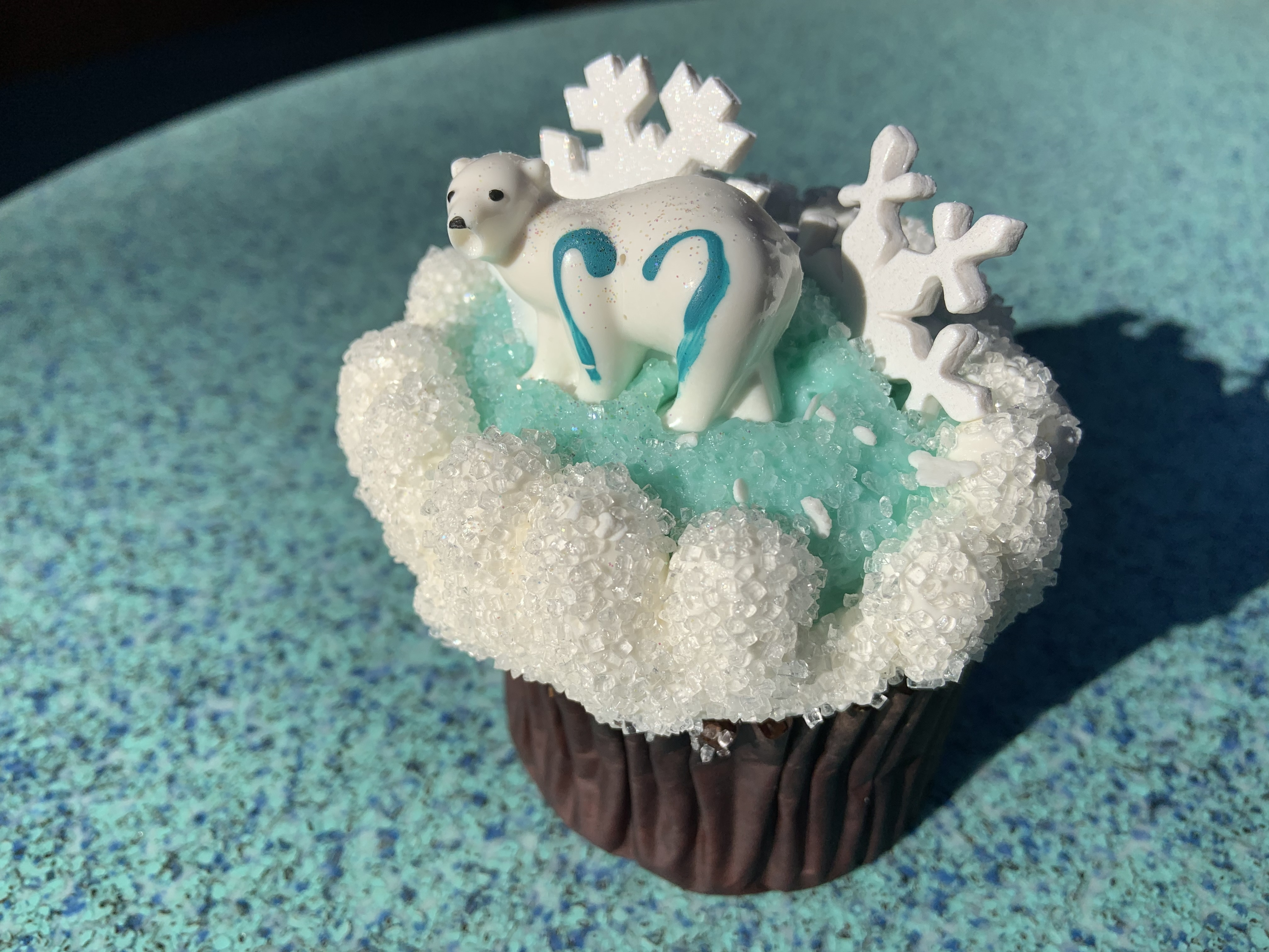Merry Menagerie cupcake 12/7/19 11