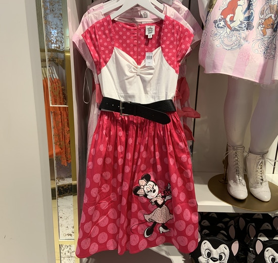 Minnie Mouse Rock the Dots dress 1/18/20 10