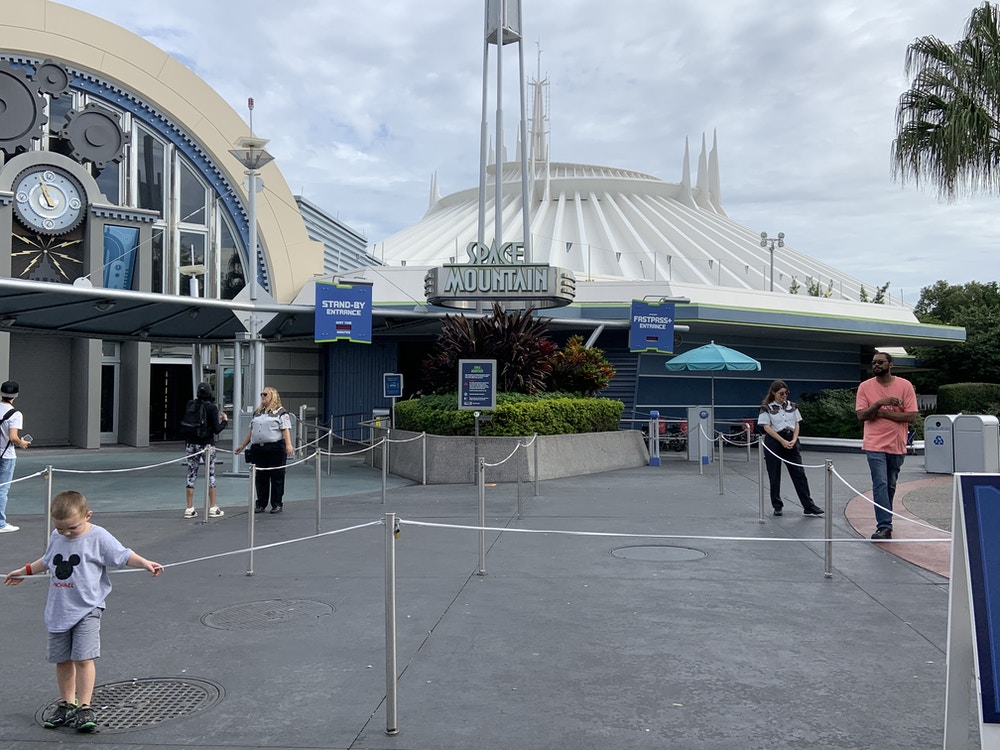 Space Mountain closed 1/19/20