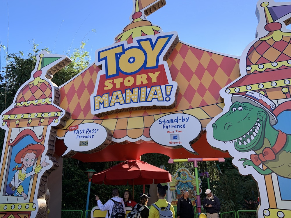Toy Story Mania 1/6/20