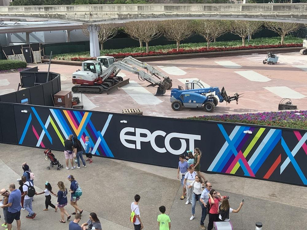 EPCOT entry fountain 1/11/20 3