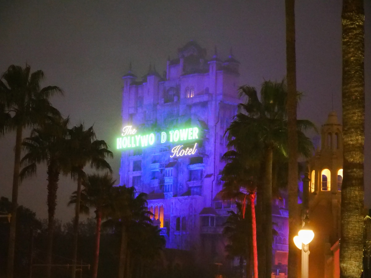 Holltwood Tower Hotel in Fog