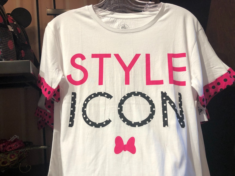 """Rock The Dots Women's """"Style Icon"""" T-Shirt"""