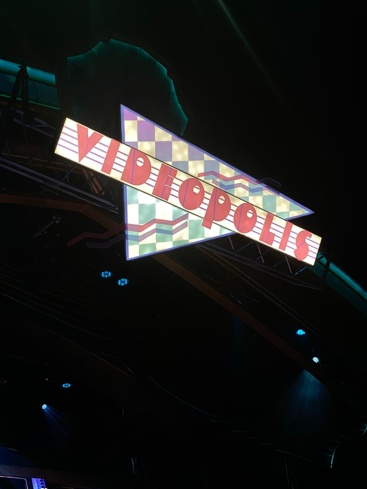 Videopolis Disneyland After Dark: 80's Nite