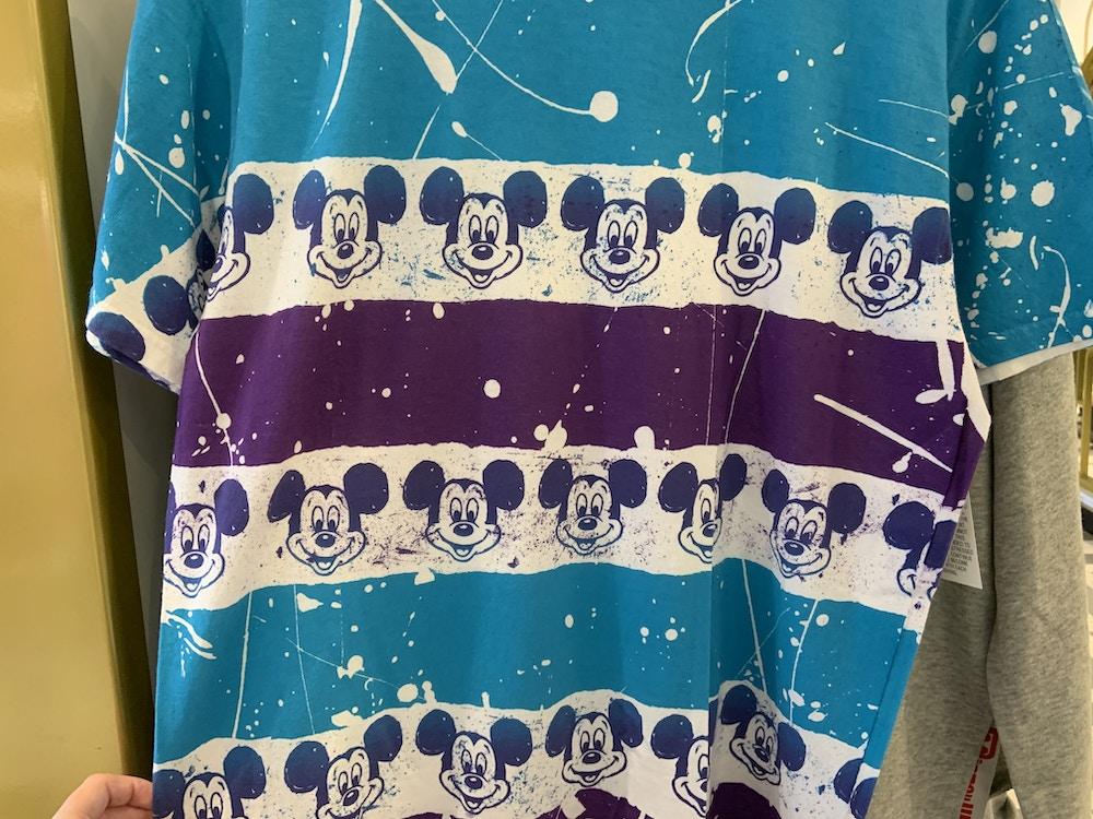 Pain splatter Mickey shirt 1/18/20 2