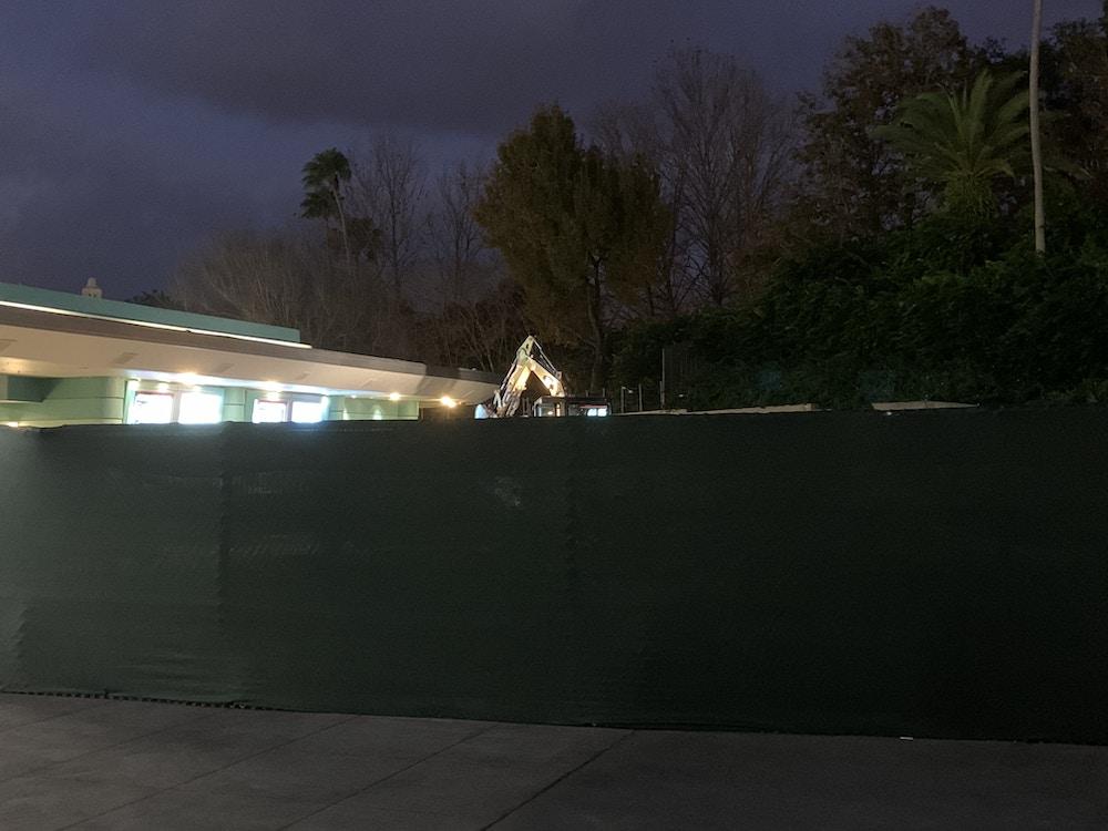 Hollywood studios outside work 1/18/20 1