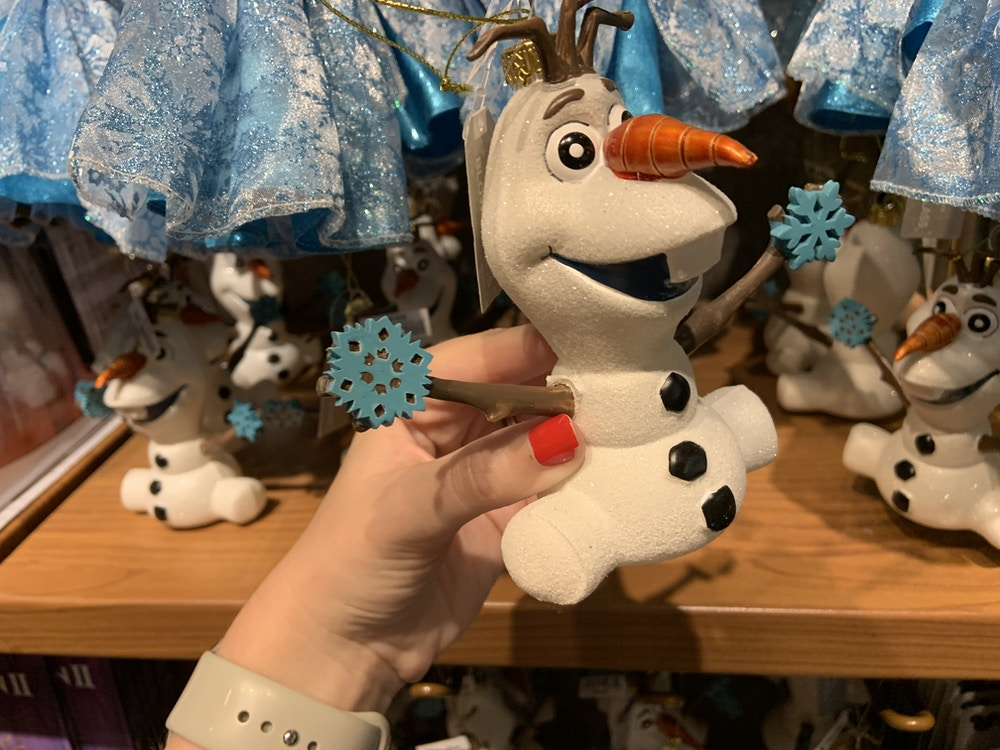 Olaf ornament 1/12/20 2